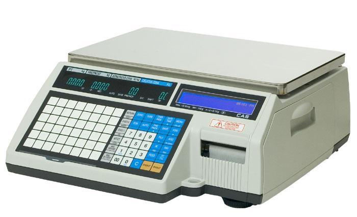 Váha etiketovací 15 kg, CAS CL5500