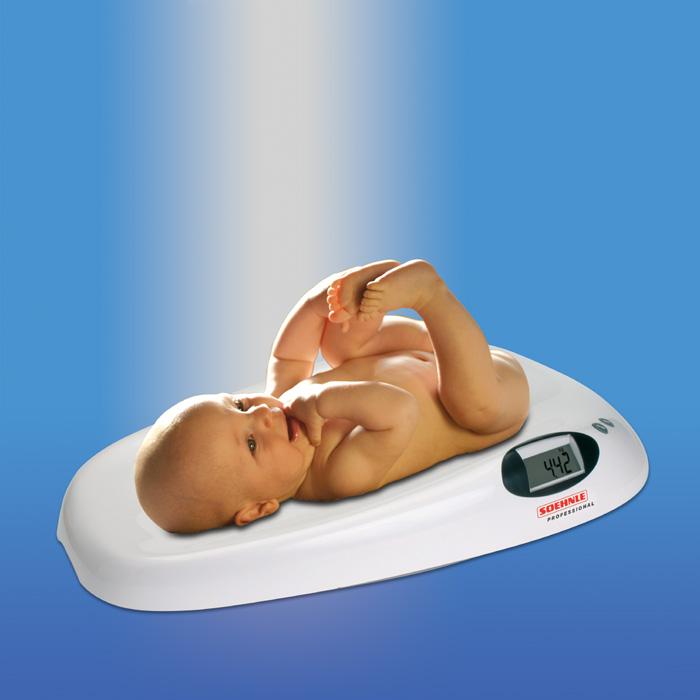 Digitální kojenecká váha 20kg, SOEHNLE