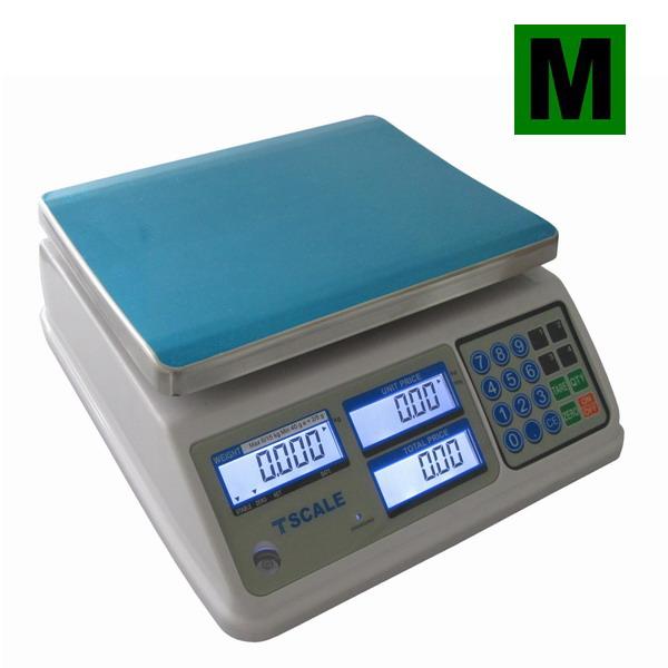 Váha obchodní voděodolná do 15kg, TSCALE SP