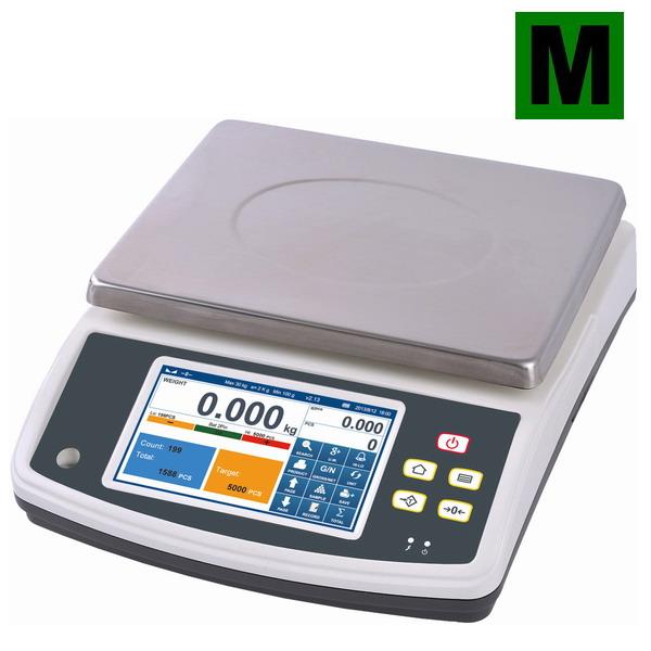 Počítací váha Q7-40, 6 kg.