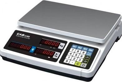 Obchodní váha CAS PR PLUS 15