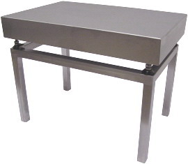 Nerezový stolek VS44/500 pod váhy 1T4040