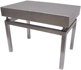 Nerezový stolek VS8080/500 pod váhy 1T8080