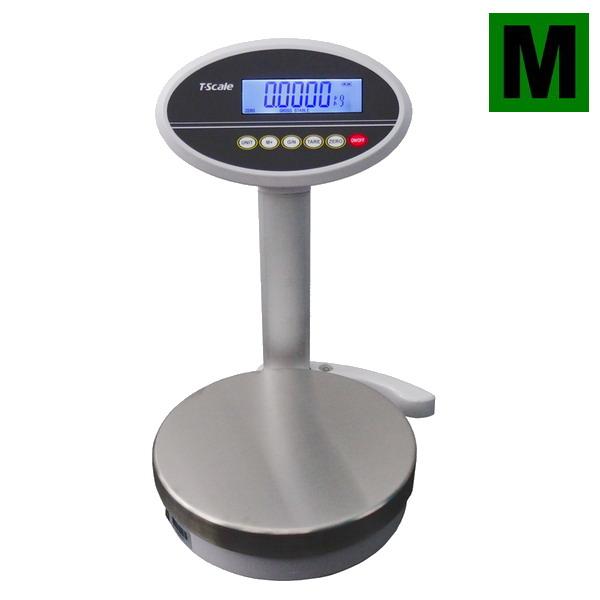 Obchodní gastro váha TSCALE ROW-06, 3/6kg, 1/2g, 232mm