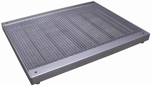 Váha podlahová roštová, nerezová do 3t, 1000x1000mm, nerez, 4T1010RN/3000