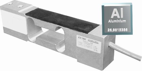 Hliníkový tenzometrický snímač ZEMIC L6N/20kg