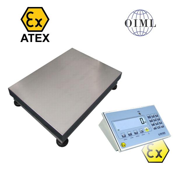 Váha pro výbušné prostředí 450x600mm do 300kg