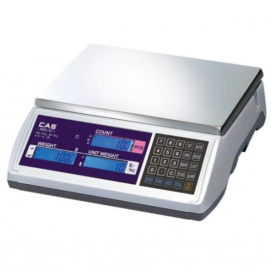 Počítací obchodní váha do 30kg, EC-30 se zákaznickým displejem