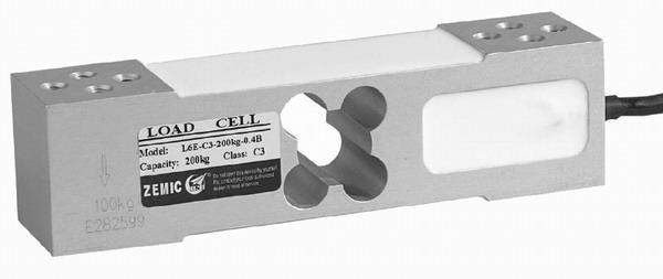 Hliníkový tenzometrický snímač ZEMIC L6E/200kg